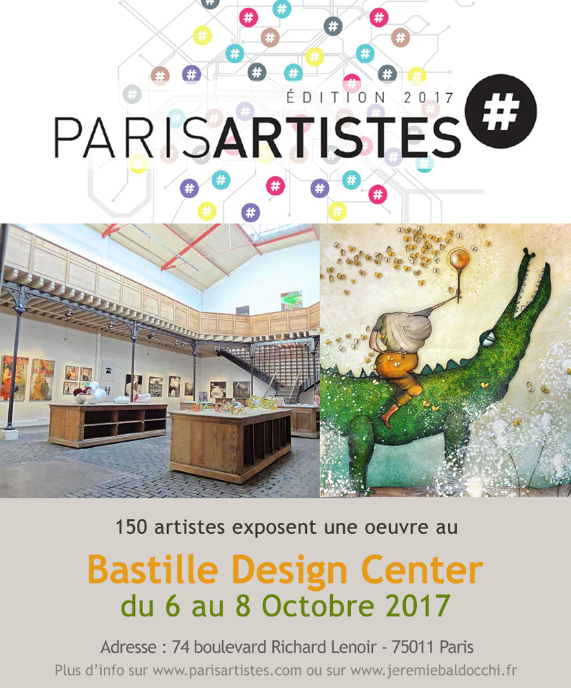 Group exhibition: Bastille Design Center – Paris – France from 6 to 8 October 2017