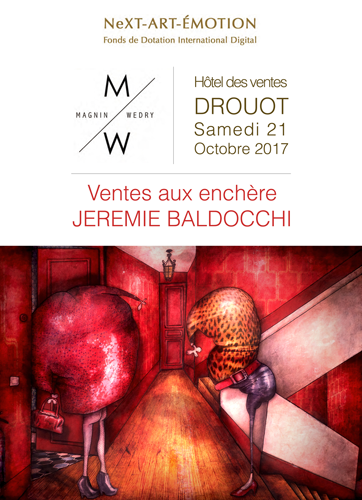 Group exhibition: Auction at the Drouot auction house the october, 21 2017