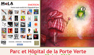 Group exhibition: Mola Museum Park and Hospital of the «Porte Verte» FRANCE from 8  to 29 june 2018