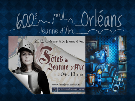 Group exhibition: 600 years anniversary of Joan of Arc – Orleans – France from 4 to 13 May 2012