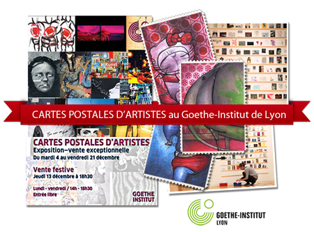 Group exhibition: Goethe Institut – Lyon – France from 4 to 21 December 2012