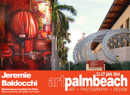 Group exhibition: Artpalmbeach Art Fair- Miami – USA from 23 to 27 January 2014