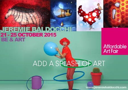 Group exhibition: Affordable Art Fair – London – England from 21 to 25 October, 2015