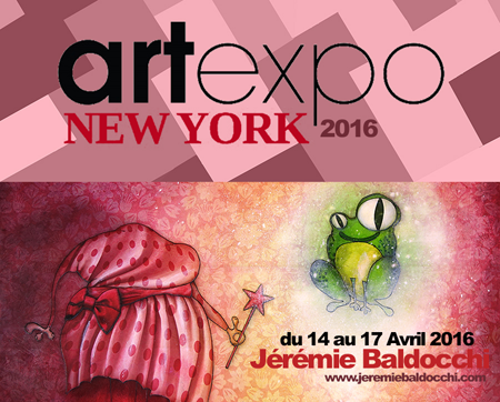 Group exhibition: Artfair ArtExpo New-York – USA from 14 to 17 April 2016