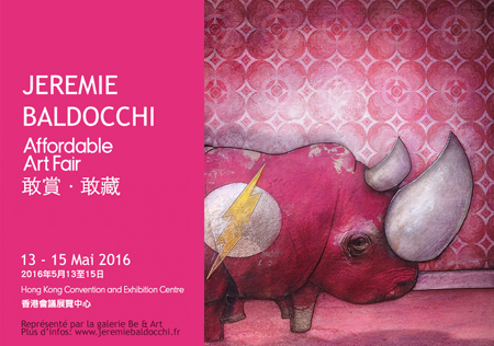 Group exhibition: Affordable Art Fair – Hong kong – China from 13 to 15 May 2016