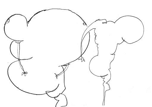 Sketch of contemporary painter Jeremie Baldocchi (croquis-010.jpg)
