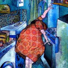 Artwork:The kitchen of Aunt Restie