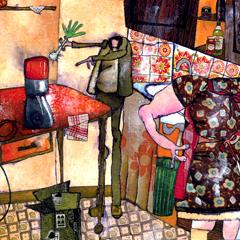 Artwork:The seller of robot