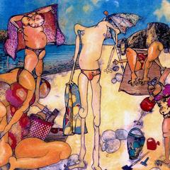 Artwork: At the beach