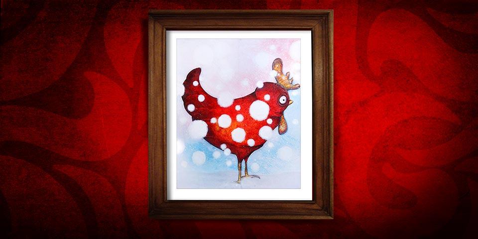 Artwork: Snow hen