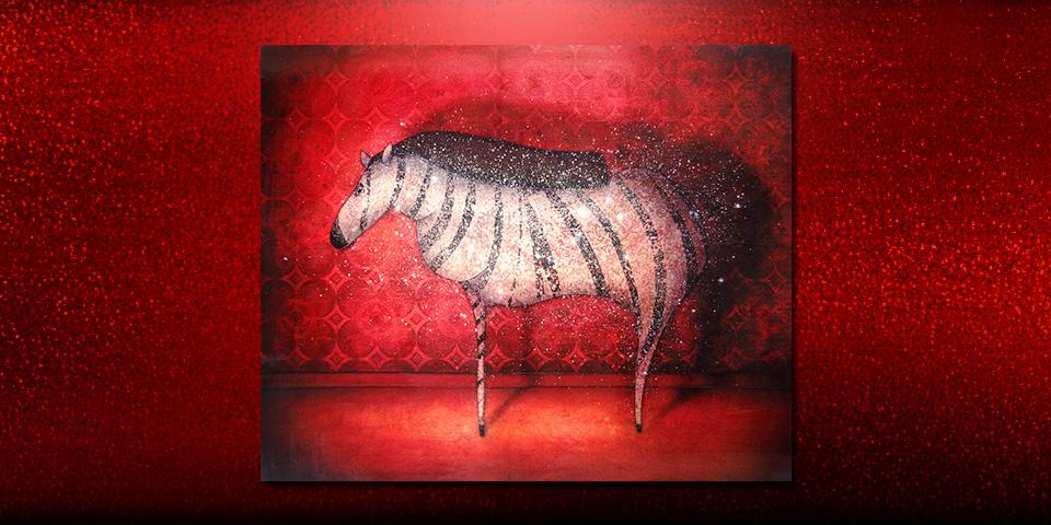 Artwork: Evening Zebra