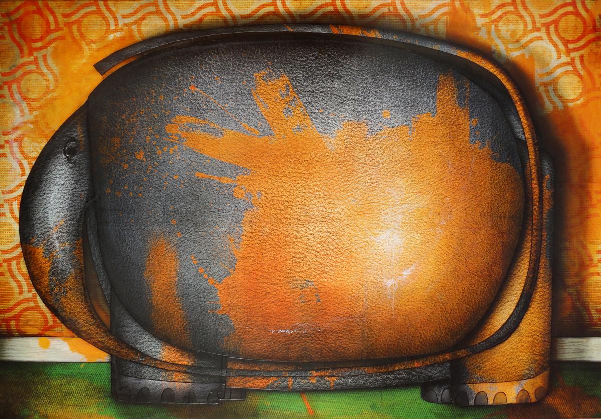 Artwork: Elephant painted