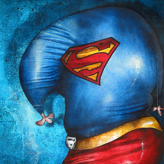 Painting: Superman