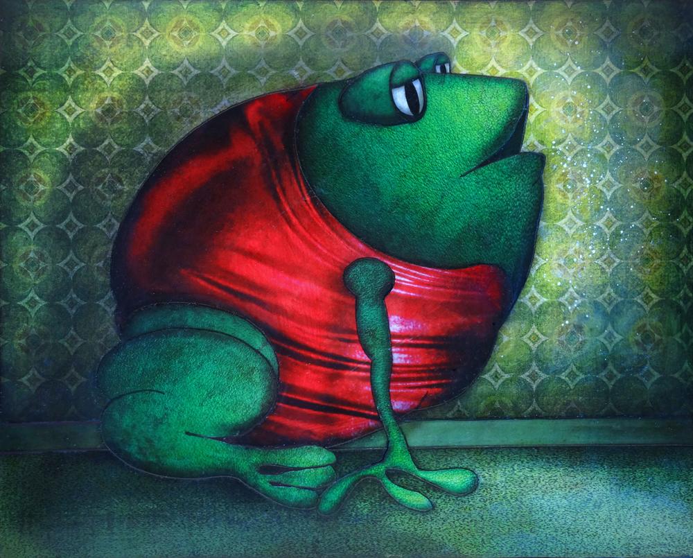 Artwork: Evening Frog
