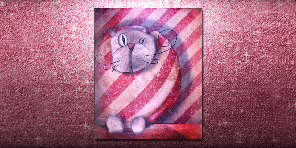 Artwork: Packaged cat