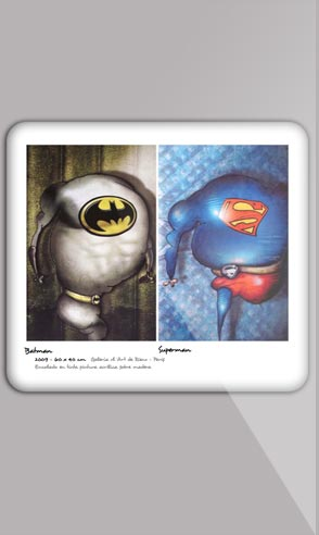 Art portfolio of the painter Jeremie Baldocchi English version in PDF format