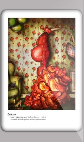 Art portfolio of the painter Jeremie Baldocchi Spanich version in PDF format