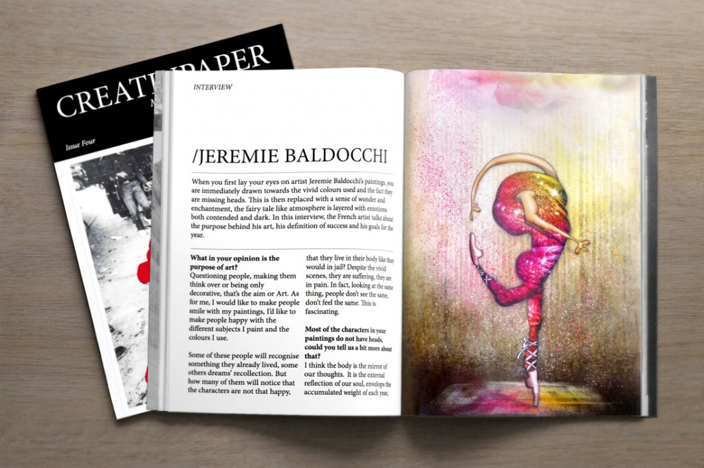 CreativPaper Contempory Art Magazine