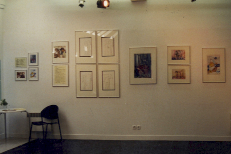 Solo exhibition Gallery Le Regard – Paris – France from 02 May to 2 June 2001