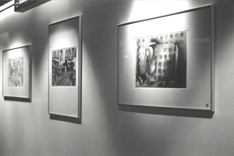 Solo exhibition Fnac Forum des Halles – Paris – France from 4 to 31 December 2001