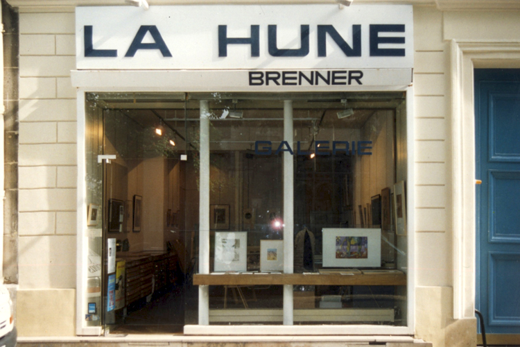 Group exhibition Gallery La Hune – Brenner – Paris – France from 09 to 30 April 2002