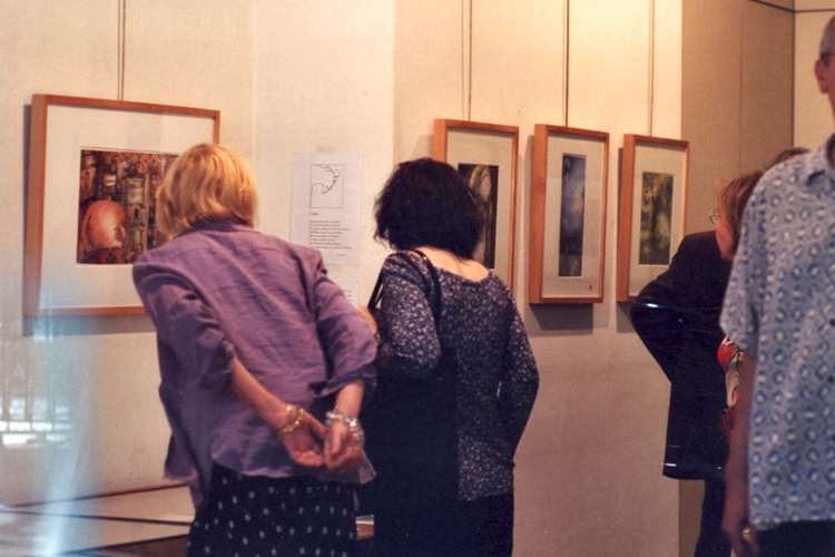 Solo exhibition Gallery La Hune – Brenner – Paris – France from 1 to July 12, 2003