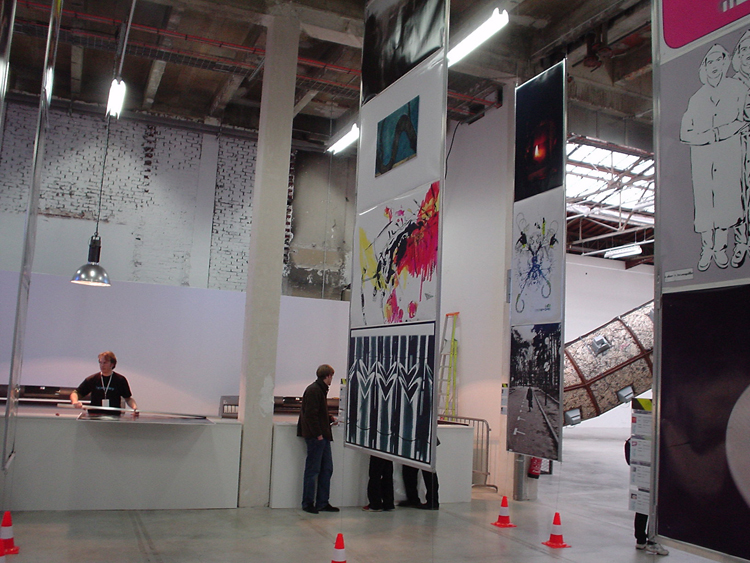 Group exhibition Hype Gallery of Palais de Tokyo – Paris – France from 2 to 6 November 2004