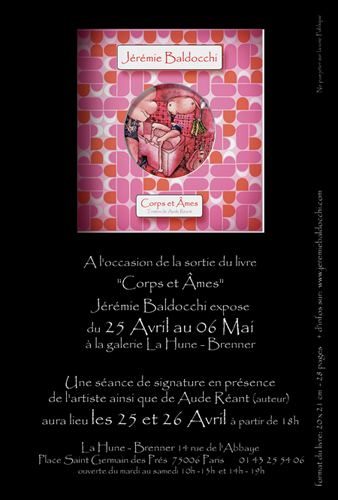 Solo exhibition: Gallery La Hune – Brenner – Paris – France from April 25 to May 6, 2006