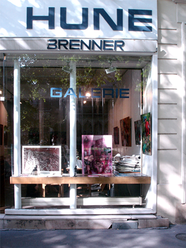 Solo exhibition Gallery La Hune – Brenner – Paris – France from April 25 to May 6, 2006