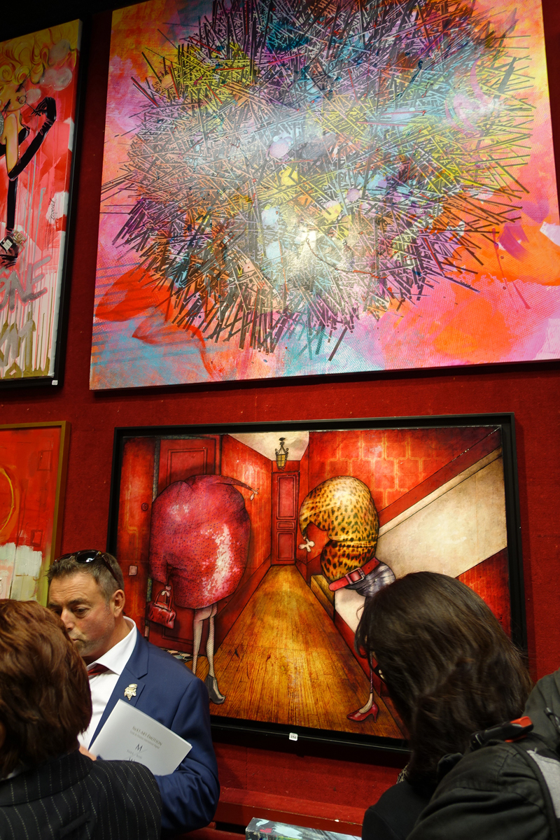 Group exhibition Auction at the Drouot auction house the october, 21 2017