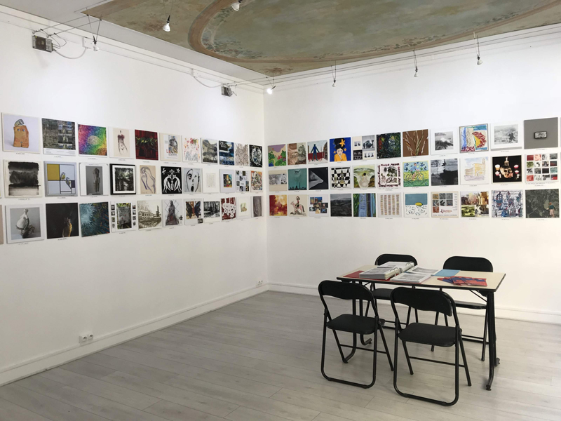 Group exhibition Group exhibition in Ménil'8 Gallery – Paris – France from 26 to 29 September 2019