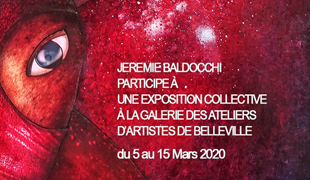 Group exhibition: Group exhibition in AAB Gallery – Paris – France from 05 to 15 March 2020