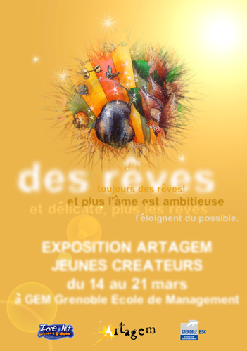 Group exhibition: Business School – Grenoble – France from 14 to 21 March 2008