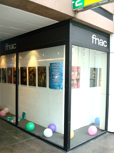 Solo exhibition Anniversary Fnac Forum des Halles – Paris – France from 04 September to 3 October 2009