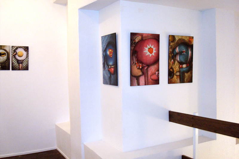 Solo exhibition Gallery Espora – Madrid – Spain from 08 November to 5 December 2009