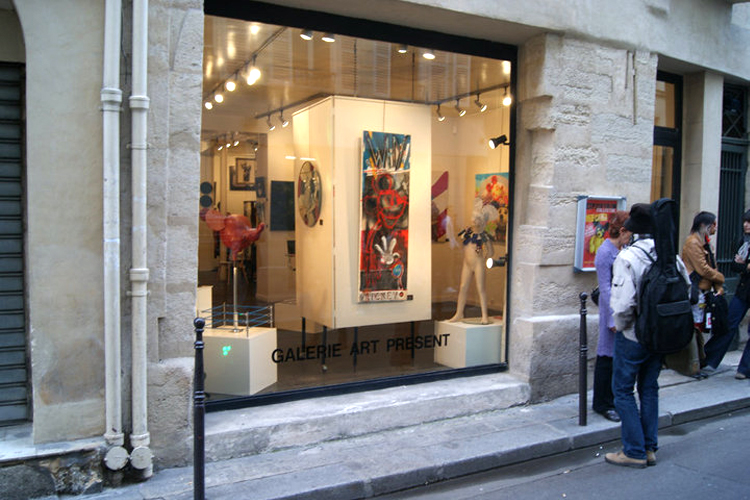 Group exhibition Gallery Art Present – Paris – France from 18 September to 1 October 2010