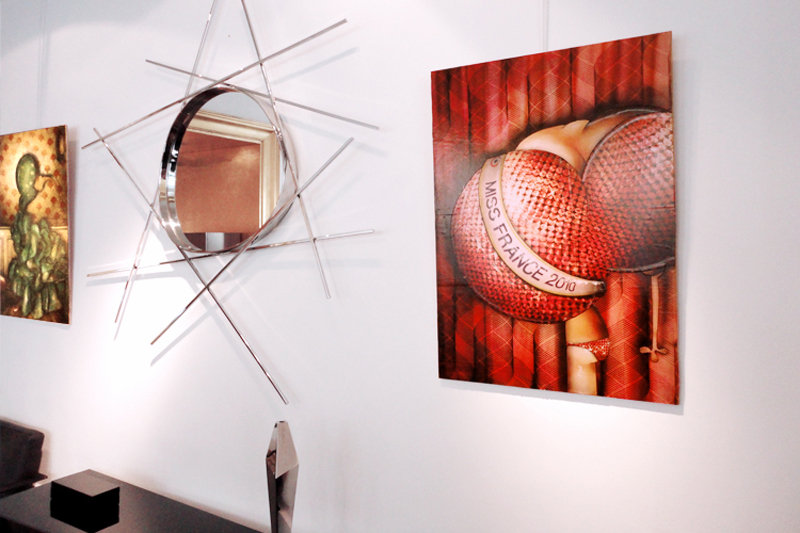 Solo exhibition Showroom Gallery Edouard Rambaud – Paris – France from September 13 to October 9, 2010
