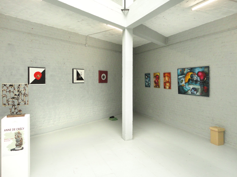 Group exhibition Contemporary Art Gallery Croissant – Brussels – Belgium from 7 to 13 May 2011
