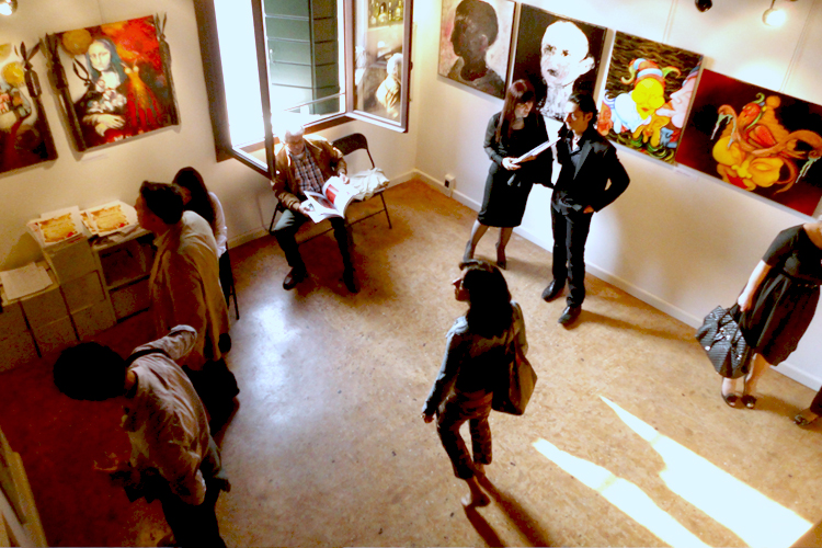 Group exhibition Prebiennale of Venice – Italy from 13 to 20 May 2011