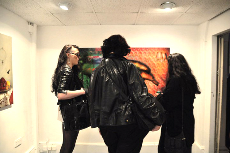 Group exhibition West Bank Gallery – London – England from 2 to 16 June 2011