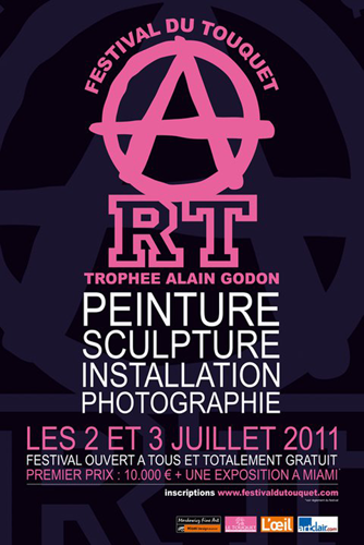 Group exhibition: Alain Godon Prize – Festival of Touquet – France from 2 to 3 July 2011