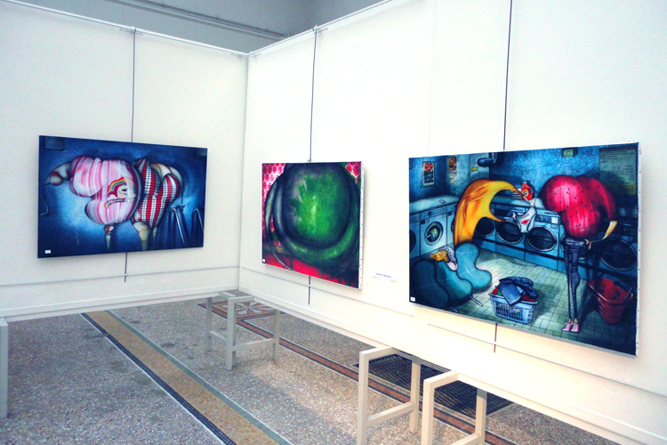 Group exhibition Artfair Regain – Lyon – France from 1 to 20 October 2011