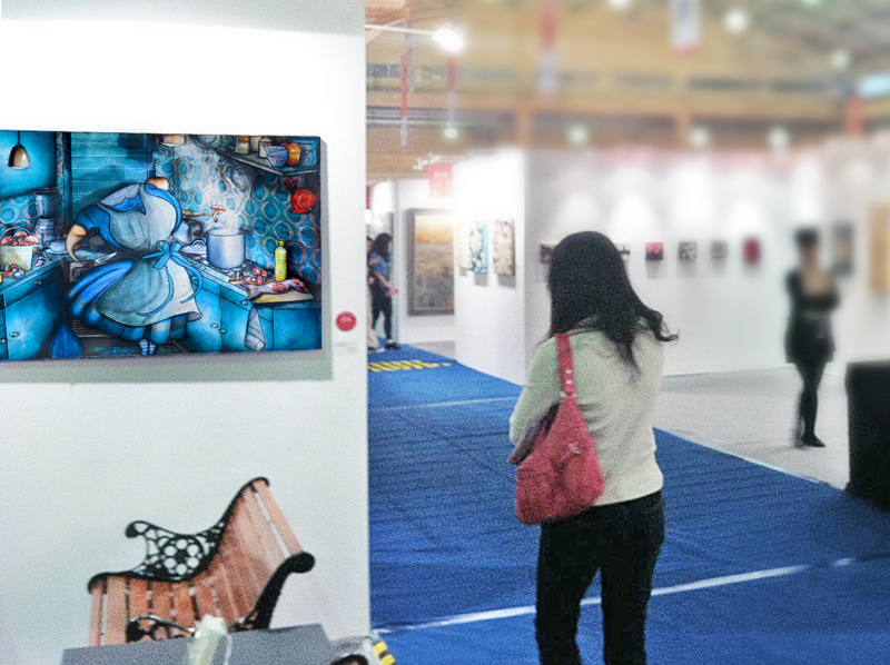Group exhibition International Prize of Contemporary Art –  Taïwan from 21 to 25 March 2012