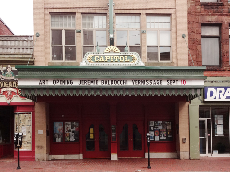 Solo exhibition Capitol Theatre –  Moncton – Canada from September 10 to October 30, 2012