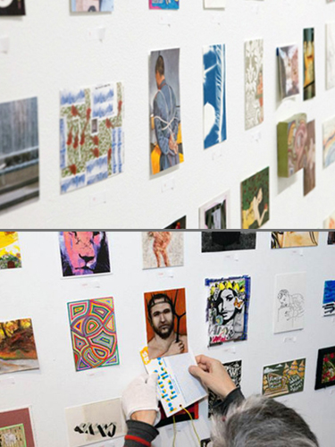 Group exhibition Sale Visual Aids – New York – USA from 25 to 27 January 2013