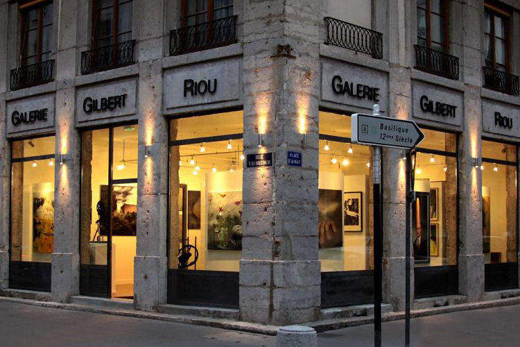Group exhibition Gallery Gilbert Riou – Lyon – France from 26 April to 6 May 2013