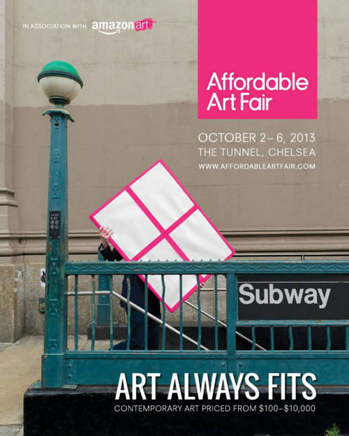 Group exhibition Affordable Art Fair – New-York – USA from 3 to 6 October 2013