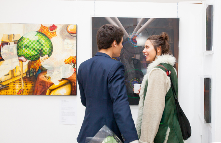 Group exhibition The Independent Artist Fair London – England from 16 to 20 October 2013