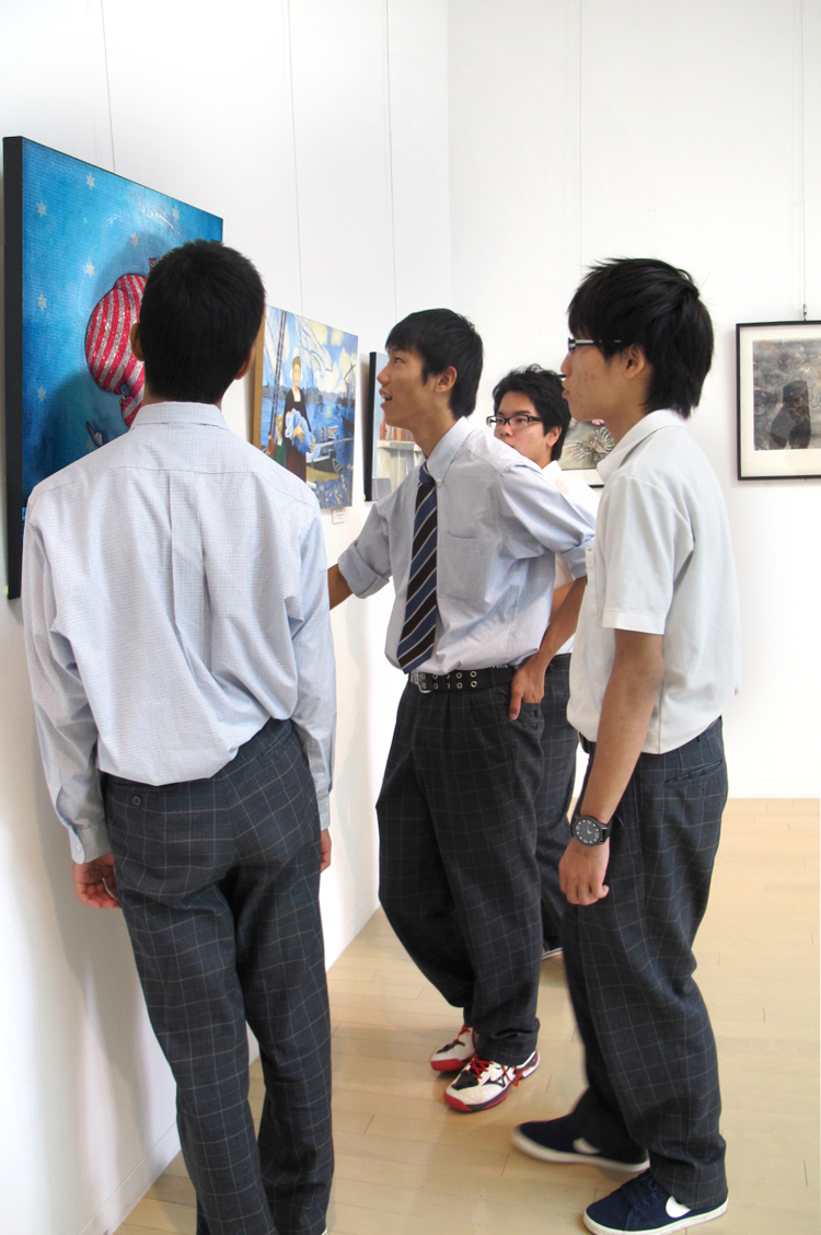 Group exhibition Museum of Fine Arts in Naha Okinawa – Japan from 29 October to 3 November 2013
