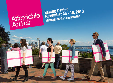 Group exhibition: Affordable Art Fair – Seattle – USA from 7 to 10 November 2013